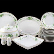 Hollóházi porcelán étkészletek